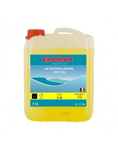 Ultradish Lemon detergent vase manual...
